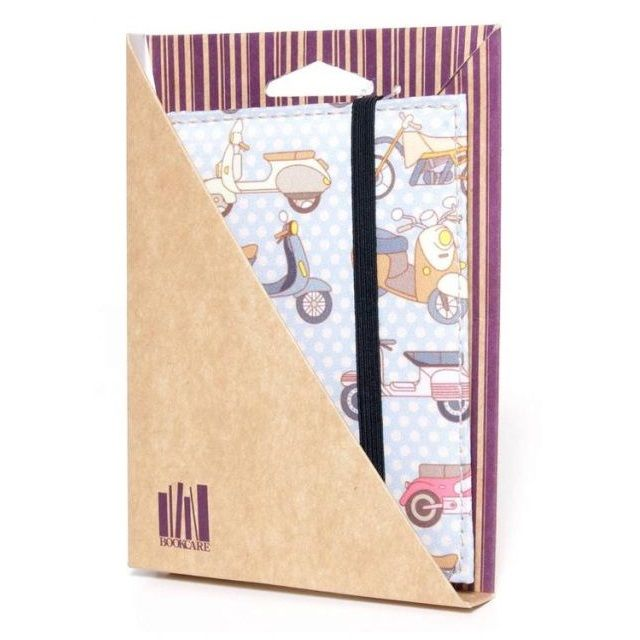 Bookcare Обложка на паспорт Мопед
