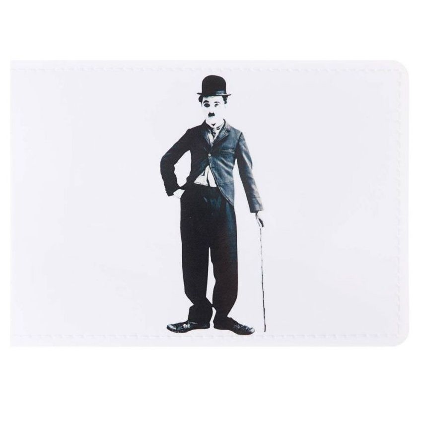 Joki Обложка на студенческий Чарли Чаплин