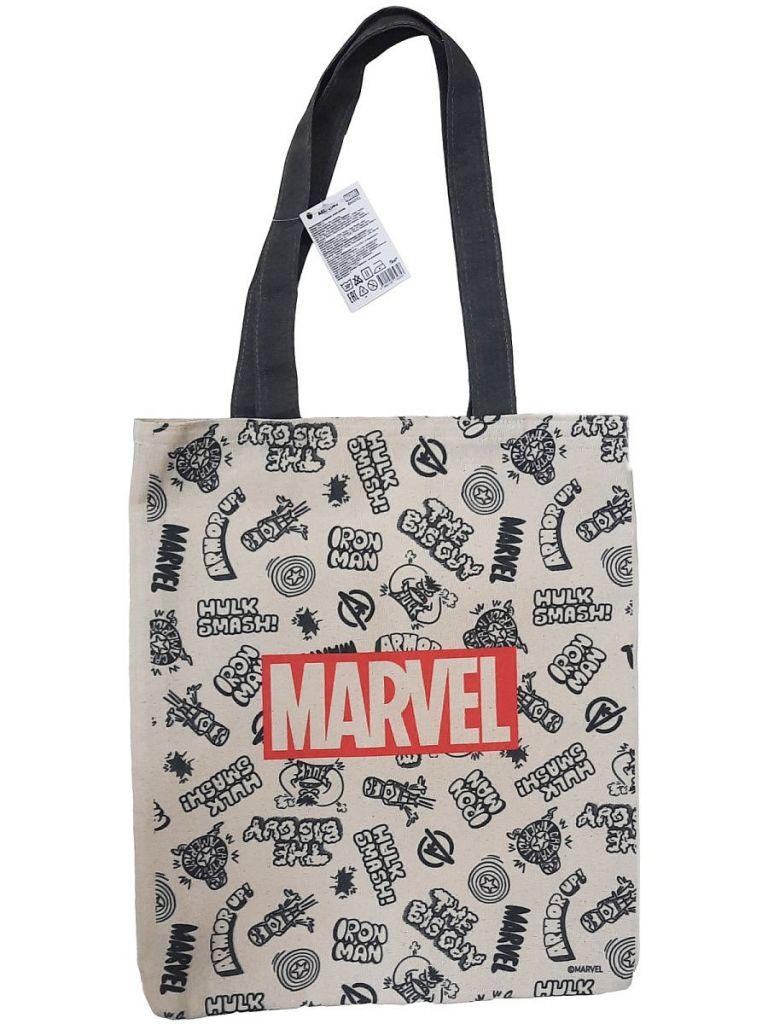 PrioritY Сумка-шоппер (Марвел Паттерн – 1) сумка паттерн яндекс белый черный