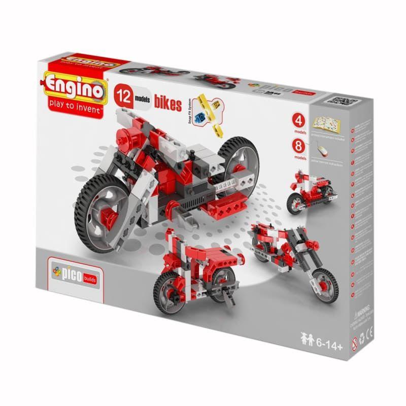 Конструктор Мотоциклы (12 моделей)
