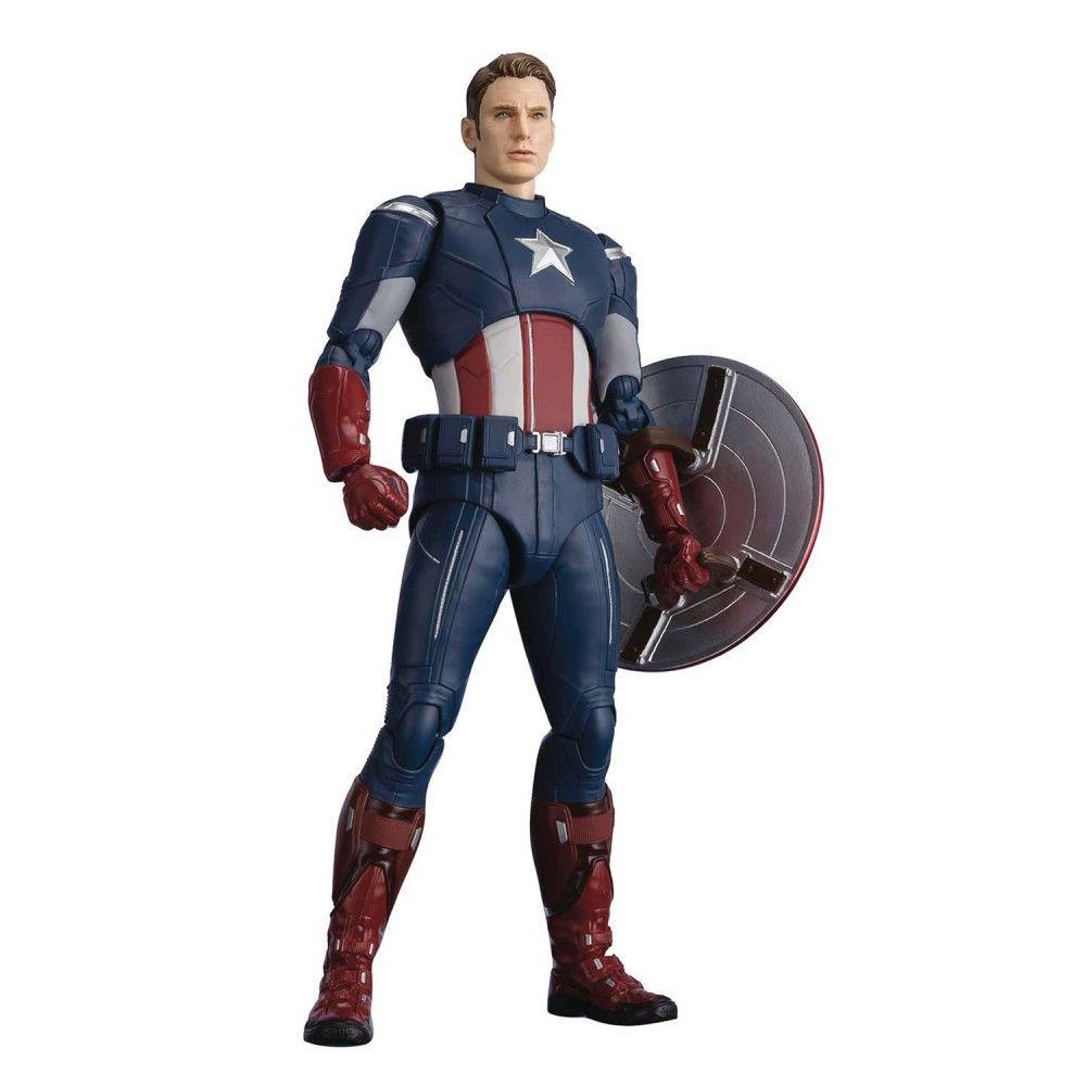 endgame ЭМСИ Фигурка S.H.Figuarts Avengers: Endgame Captain America Cap Vs Cap Edition