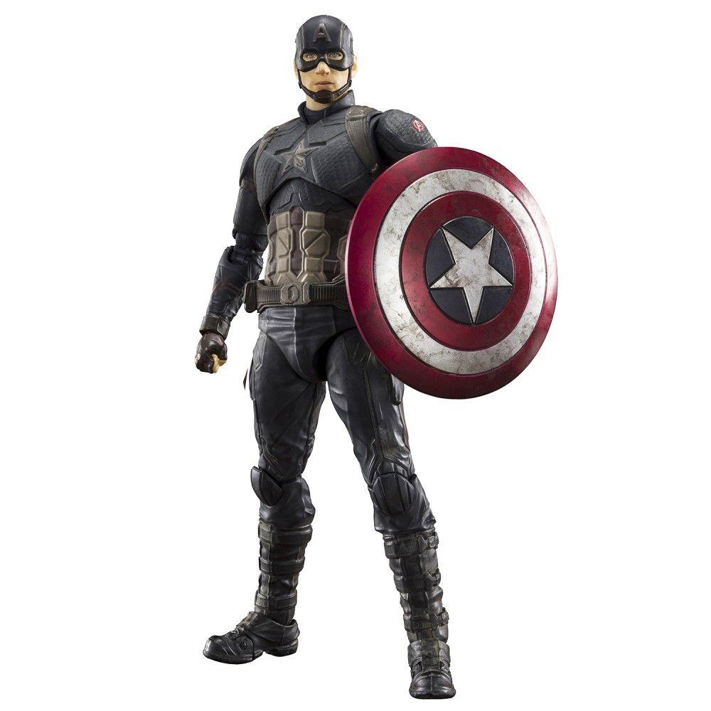 endgame ЭМСИ Фигурка S.H.Figuarts Avengers: Endgame Captain America Final Battle Edition