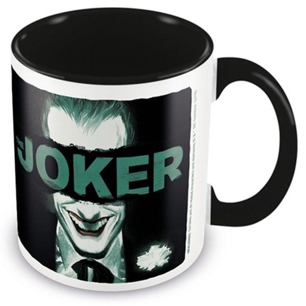 ЭМСИ Кружка DC The Joker (Put on a Happy Face) Black Coloured Inner Mug кружка batman the batman who laughs – the face of evil black coloured inner 315 мл