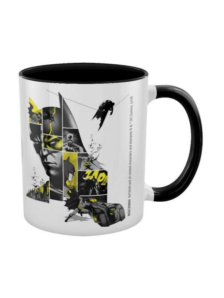 ЭМСИ Кружка DC Batman (80th Anniversary) Black Coloured Inner Mug кружка batman the batman who laughs – the face of evil black coloured inner 315 мл
