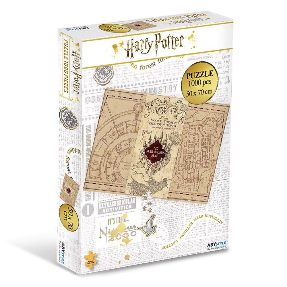 ЭМСИ Пазл Harry Potter Jigsaw puzzle 1000 деталей Marauder's Map