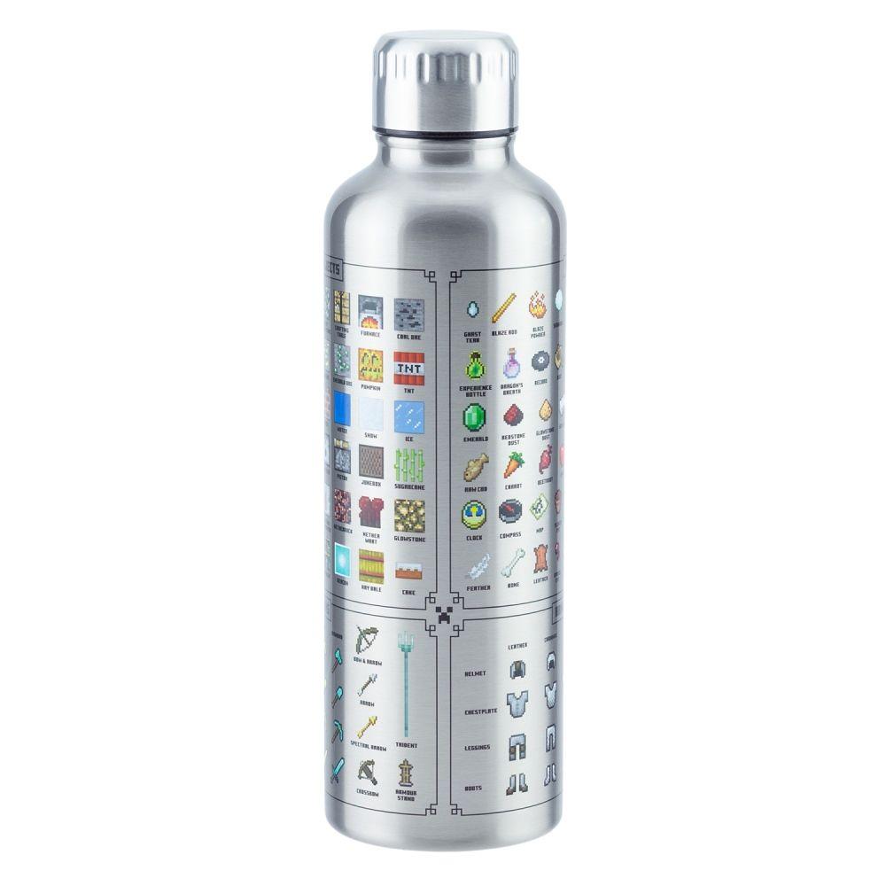 ЭМСИ Бутылка для воды Minecraft Metal Water Bottle