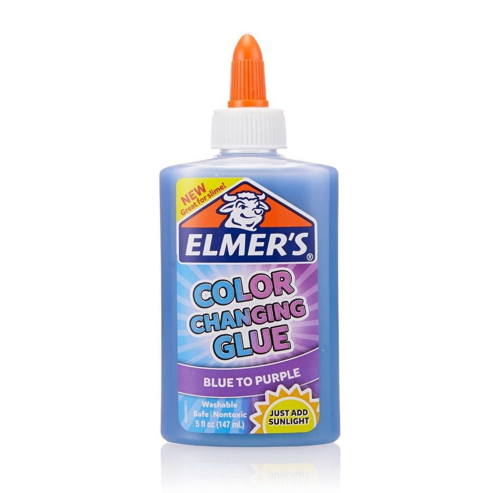 Elmers Клей меняющий цвет (голубой-фиолетовый)