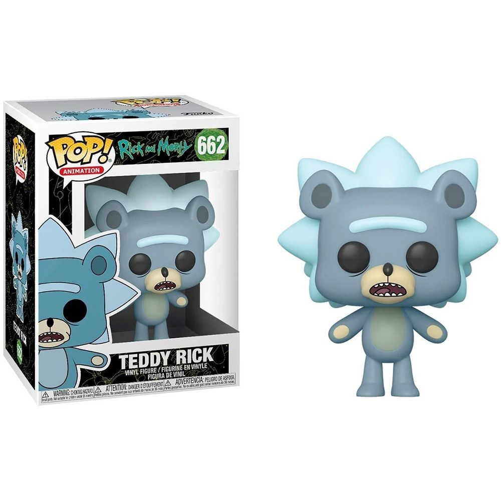 Funko POP! Фигурка Funko POP! Рик и Морти: Медвежонок Рик