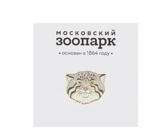 Heart Of Moscow Значок металлический Манул