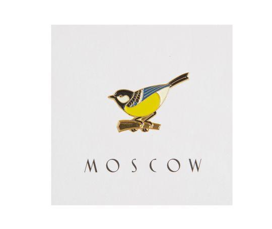 Heart Of Moscow Значок металлический Синица