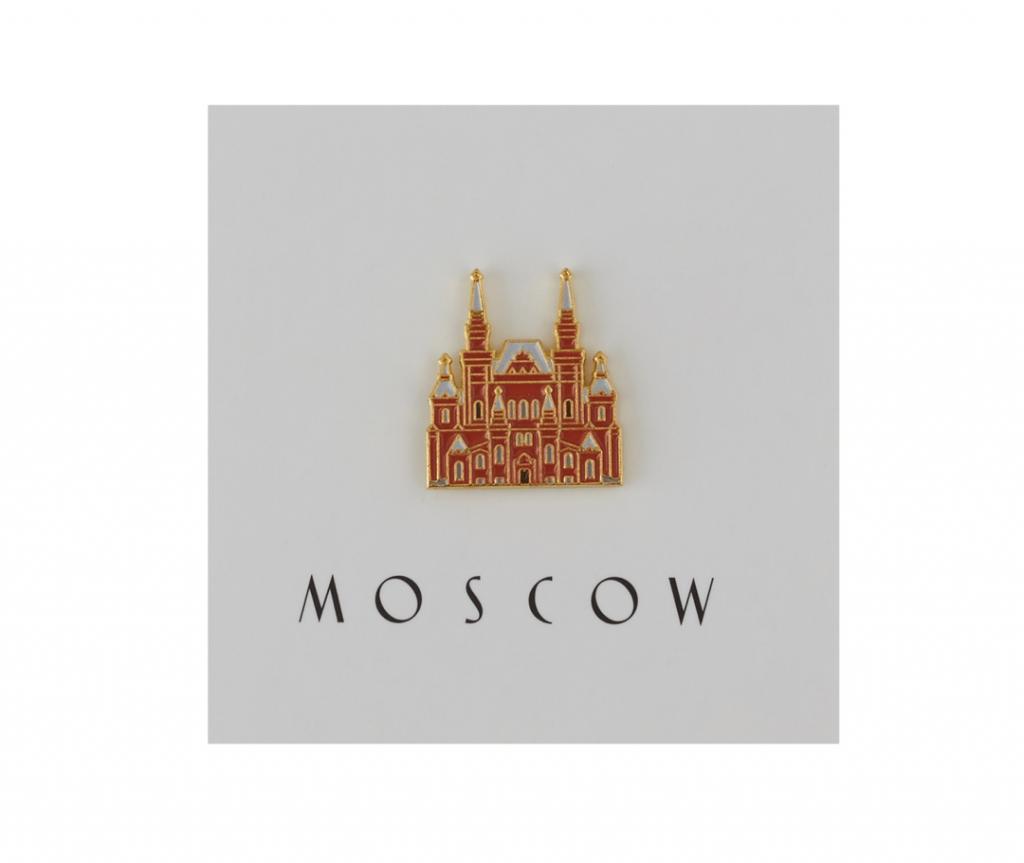Heart Of Moscow Значок металлический Исторический музей