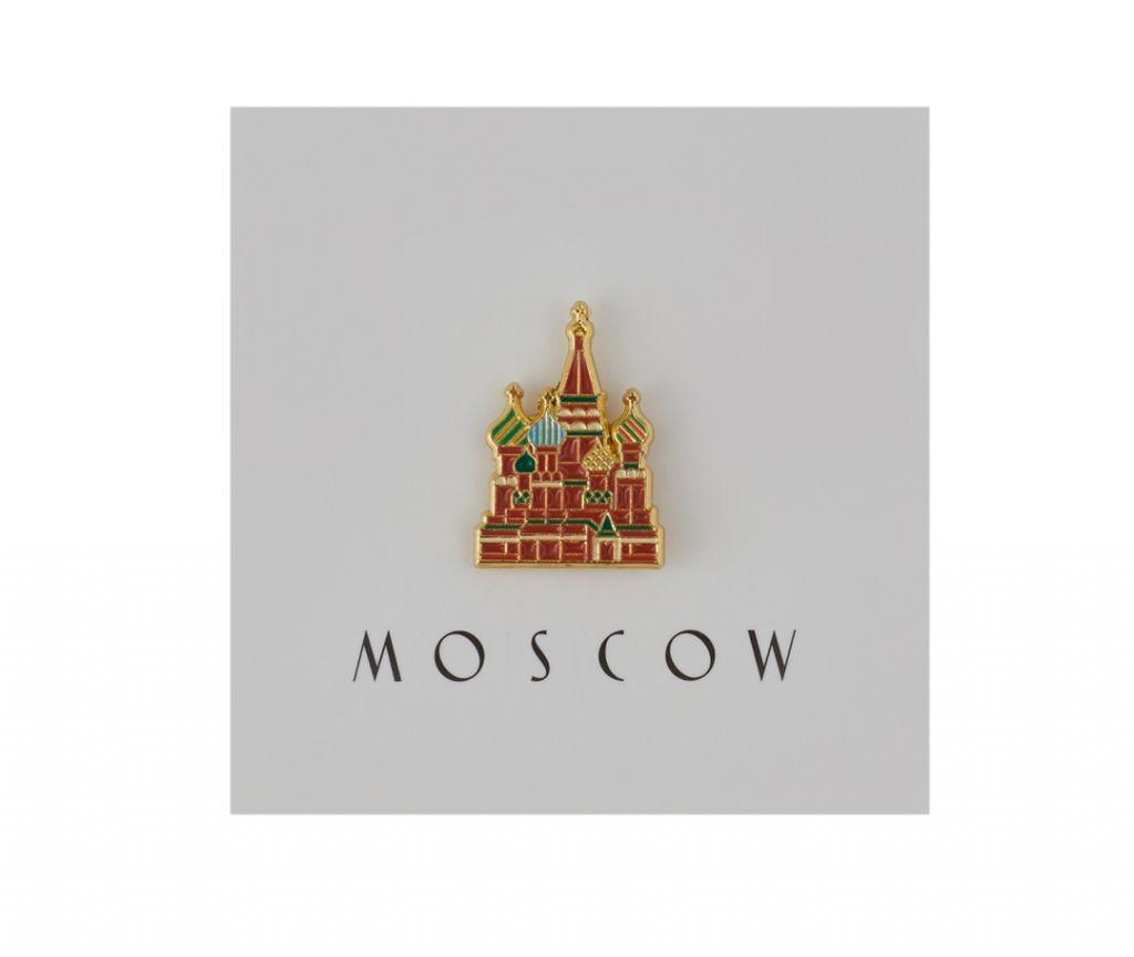 Heart Of Moscow Значок металлический Покровский собор