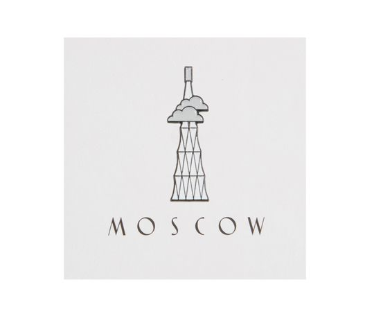 Heart Of Moscow Значок металлический Шуховская башня