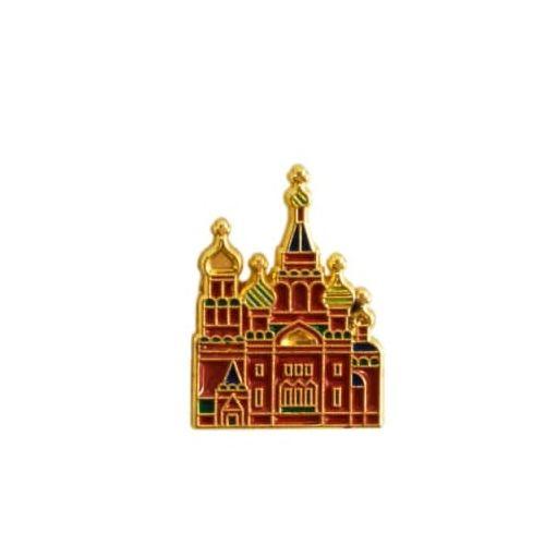 Heart Of Moscow Значок металлический СПБ Спас на Крови