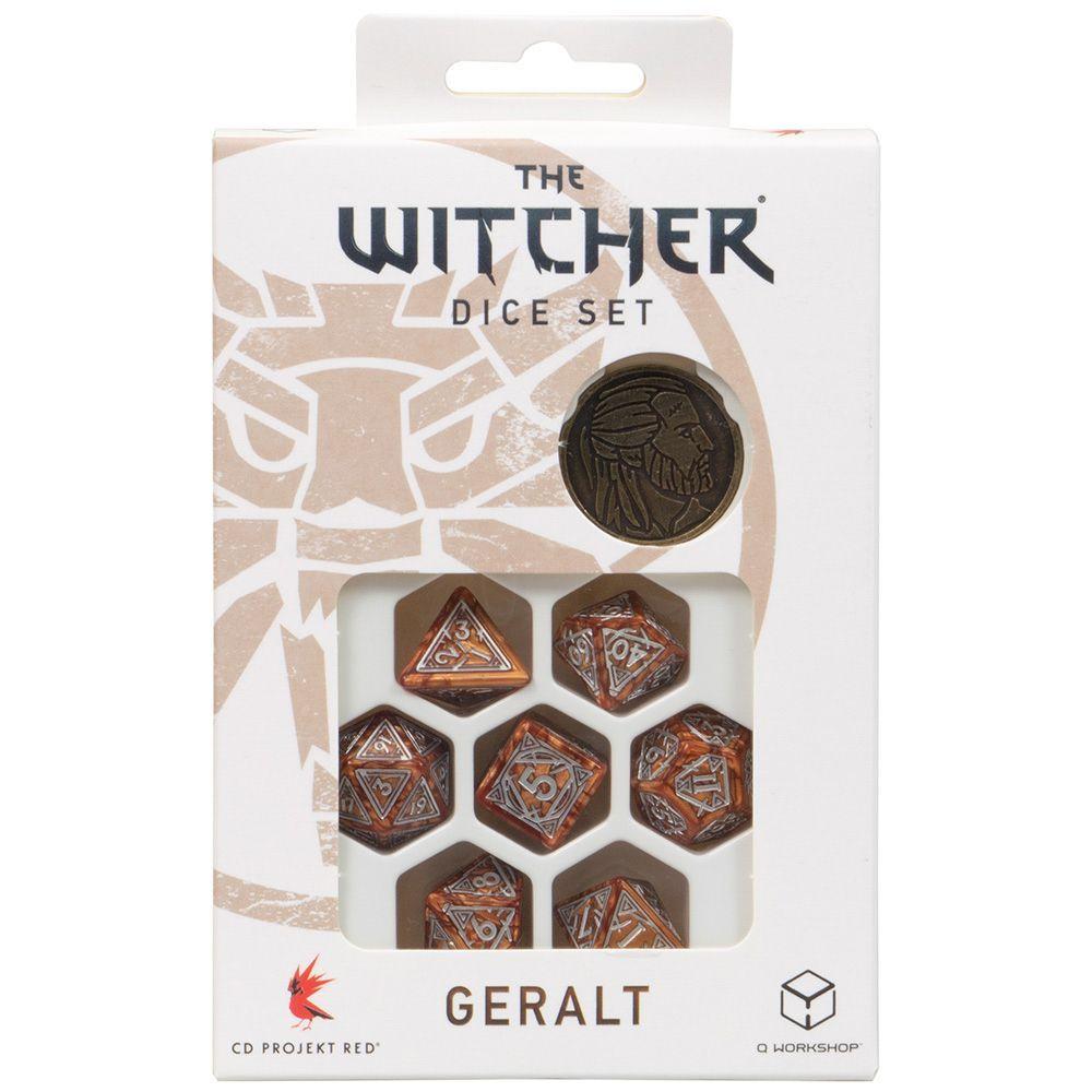 Q-Workshop Набор кубиков The Witcher: Geralt – The Monster Slayer, 7 шт.