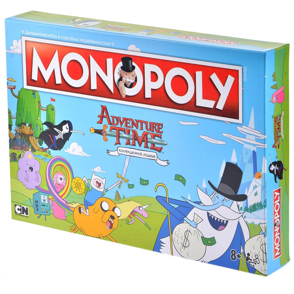 Hobby World Монополия Adventure Time