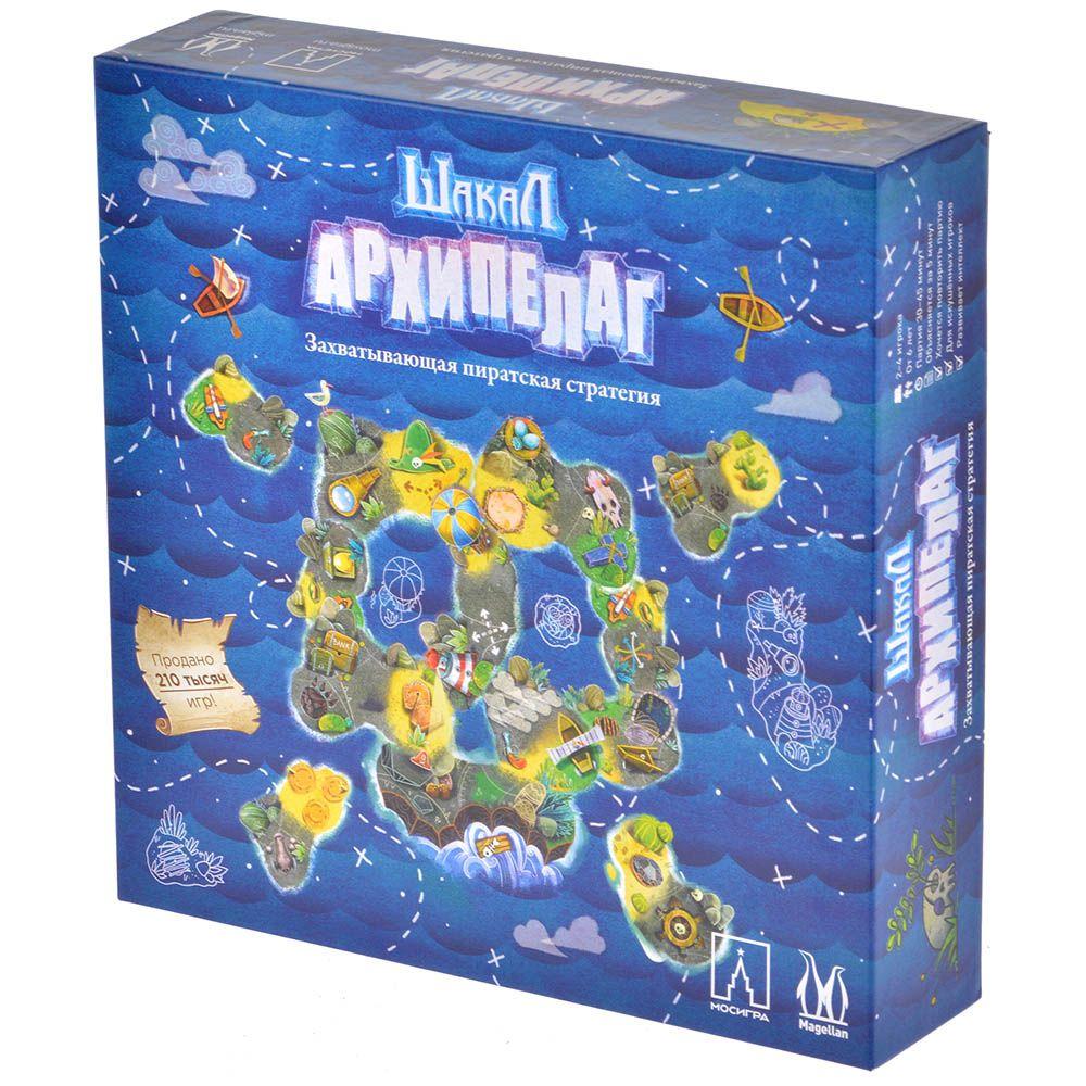 Фото - Magellan Шакал Архипелаг (базовая версия) настольные игры magellan настольная игра шакал архипелаг карточная игра