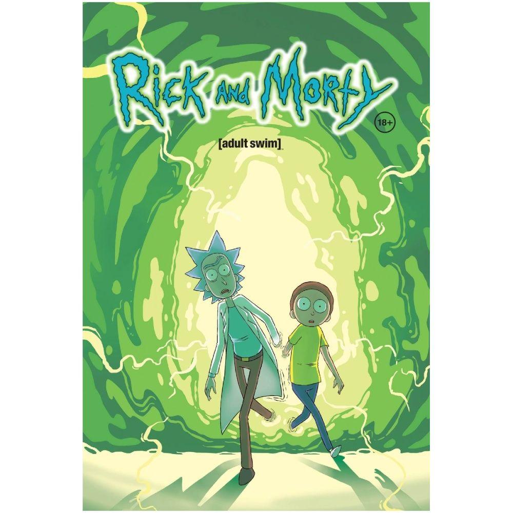 Эксмо Рик и Морти. Книга 1