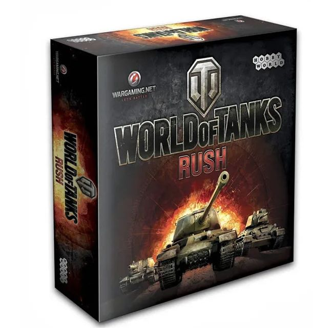 Hobby World World of Tanks Rush (2-е рус. изд.)
