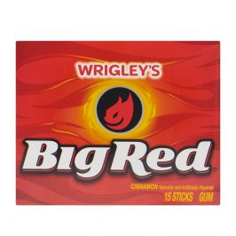 Жевательная резинка Big Red Cinnamon 15 sticks Gum
