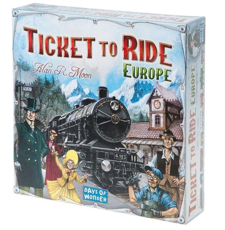 DoW Билет на поезд: Европа (англ)