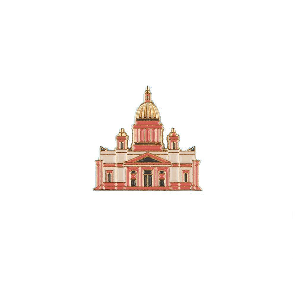 Heart Of Moscow Значок металлический СПБ Исаакиевский собор