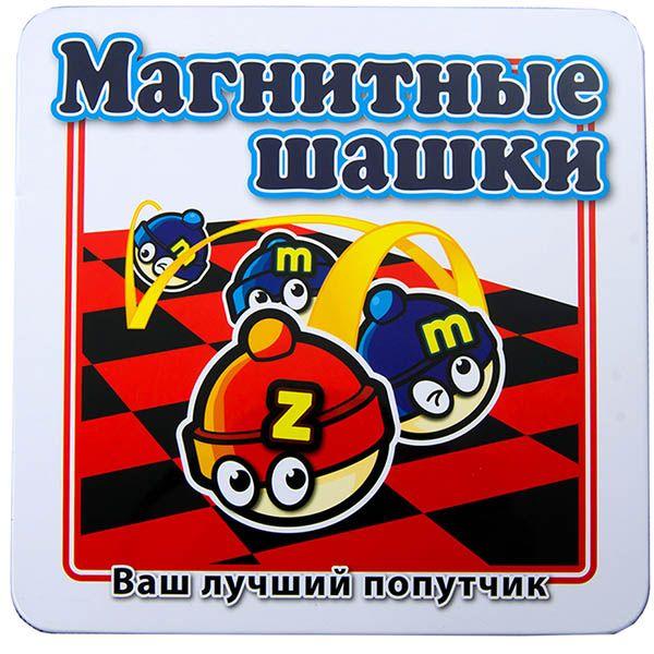 MACK & ZACK Шашки магнитные