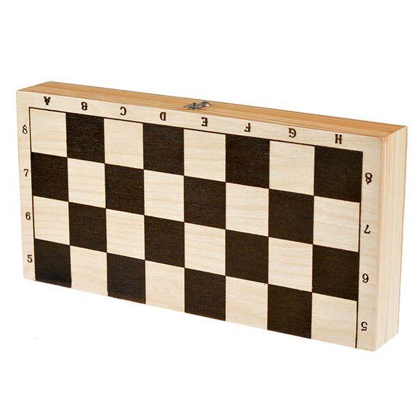 Разное Шахматы обиходные лакированные
