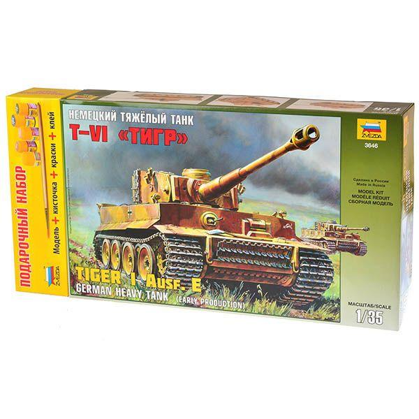Звезда Немецкий танк Т-VI Тигр
