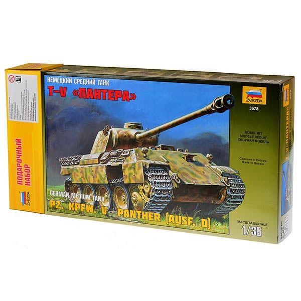 Звезда Немецкий танк Т-V Пантера