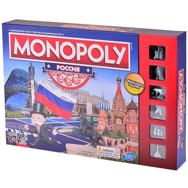 Hasbro Монополия Россия