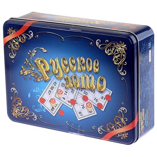 Десятое королевство Русское лото в жестяной коробке недорого