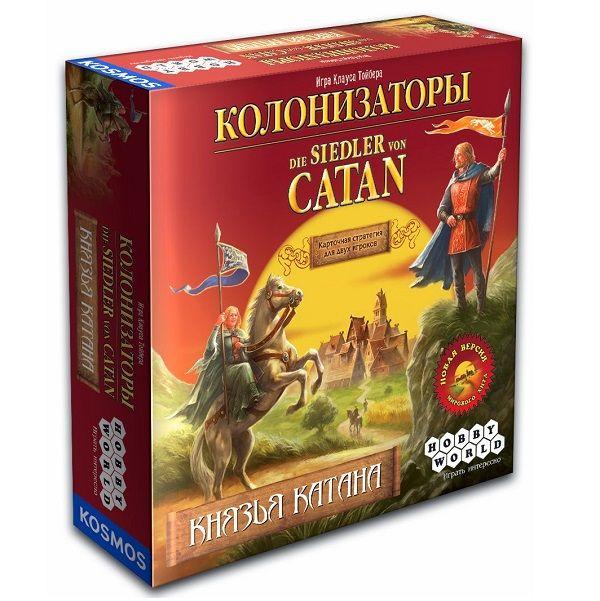 Hobby World Колонизаторы. Князья Катана
