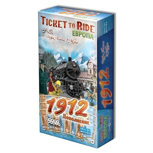Hobby World Билет на поезд: Европа 1912
