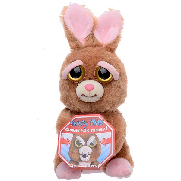 Фото - Feisty Pets Мягкая игрушка Заяц мягкая игрушка шар заяц 18см