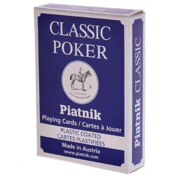 Piatnik Piatnik: карты Классик покер 55л.