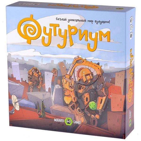 Фото - Muravey Games Футуриум muravey games настольная игра muravey games мемори песики
