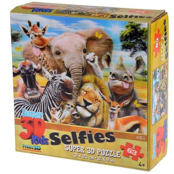 Prime 3D Африка селфи
