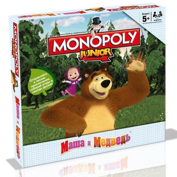 Hasbro Монополия Маша и Медведь