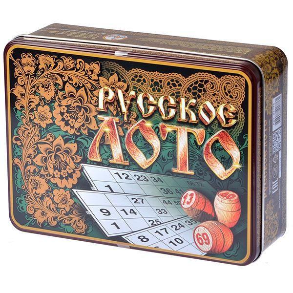 Десятое королевство Лото Русские узоры (в коробке) лото десятое королевство русские узоры 01776