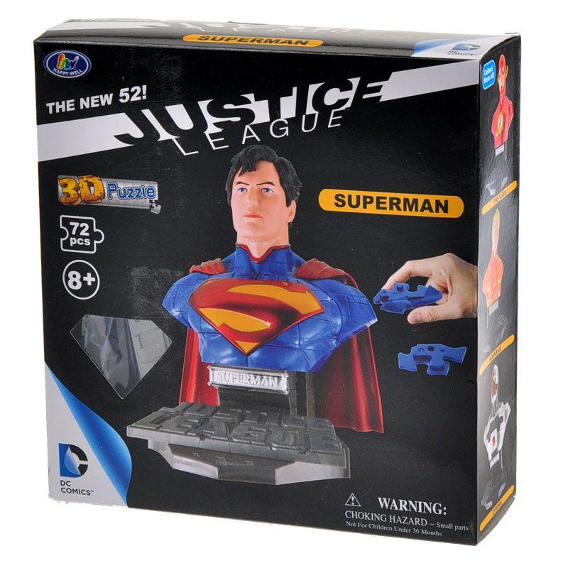 3D пазл 3D пазл: Супермен