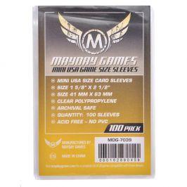 Протекторы Mayday (100 шт., 41x63 мм): стандарт прозрачные