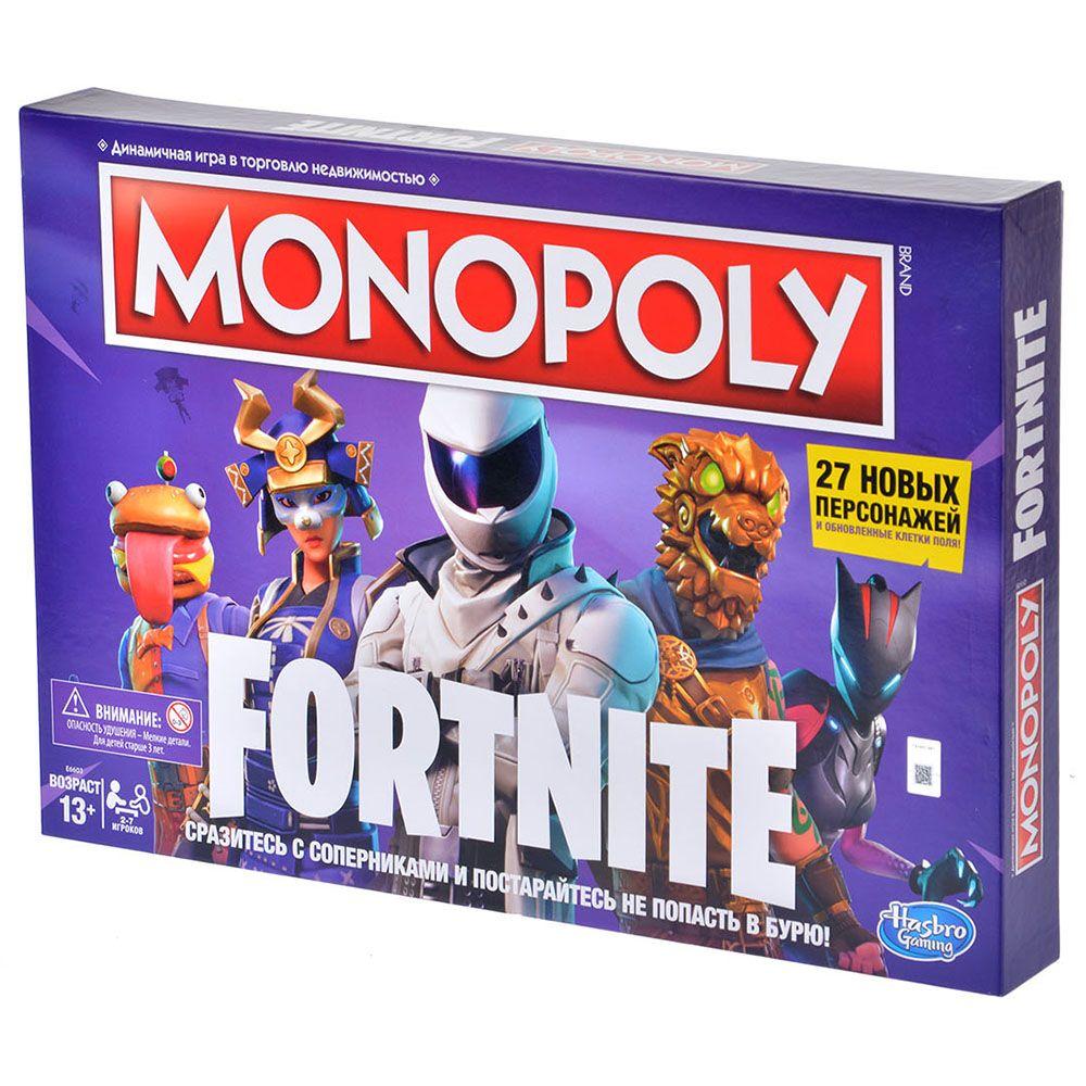 Hasbro Монополия Фортнайт