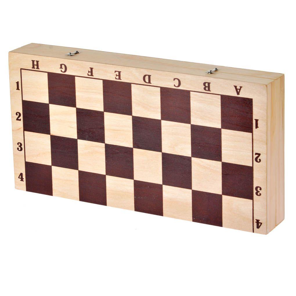 настольная игра шахматы гроссмейстерские с доской 43 21см ин 8976 Нескучные игры Шахматы Гроссмейстерские (турнирные) с доской