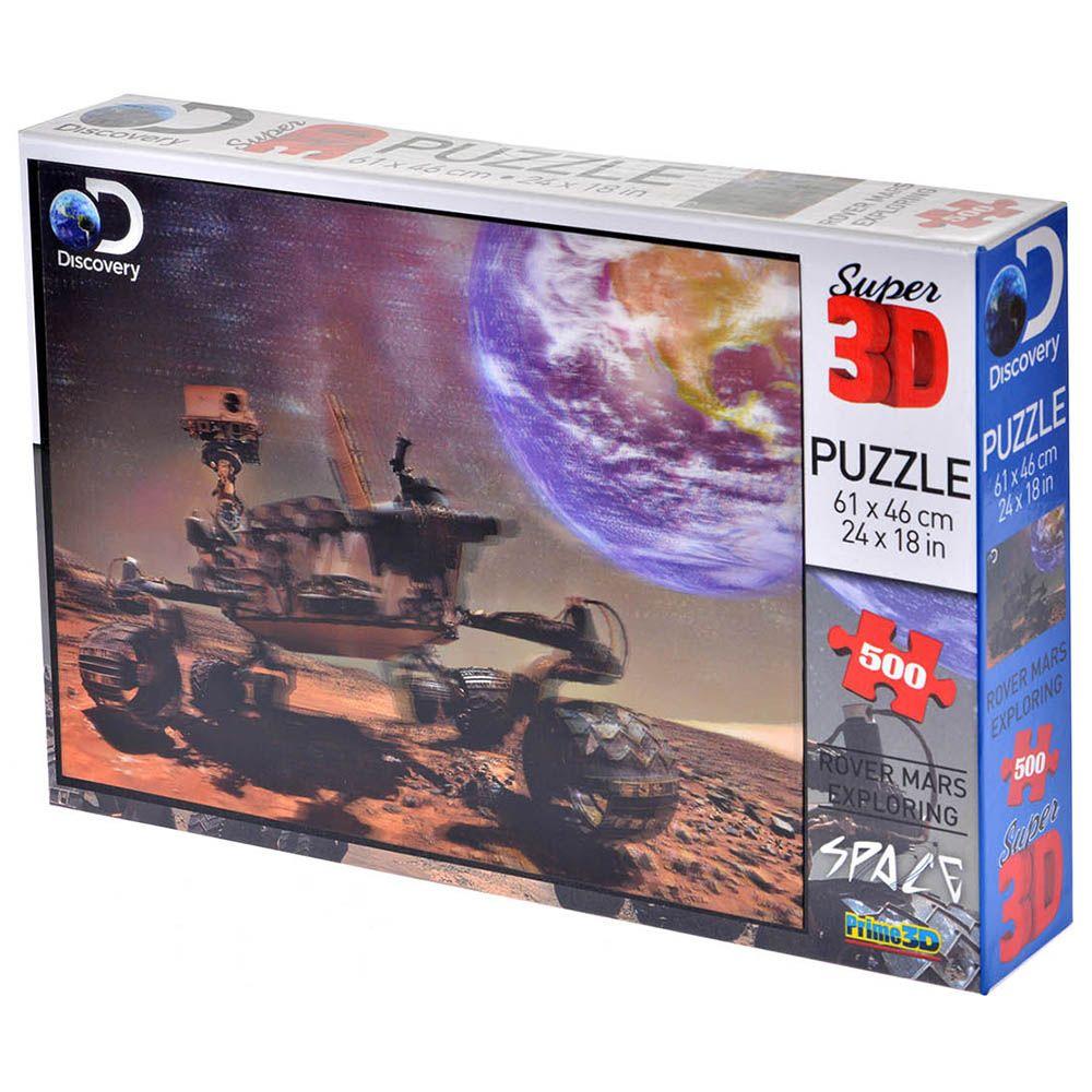 Prime 3D Пазл Super «Марсоход» (500 деталей)