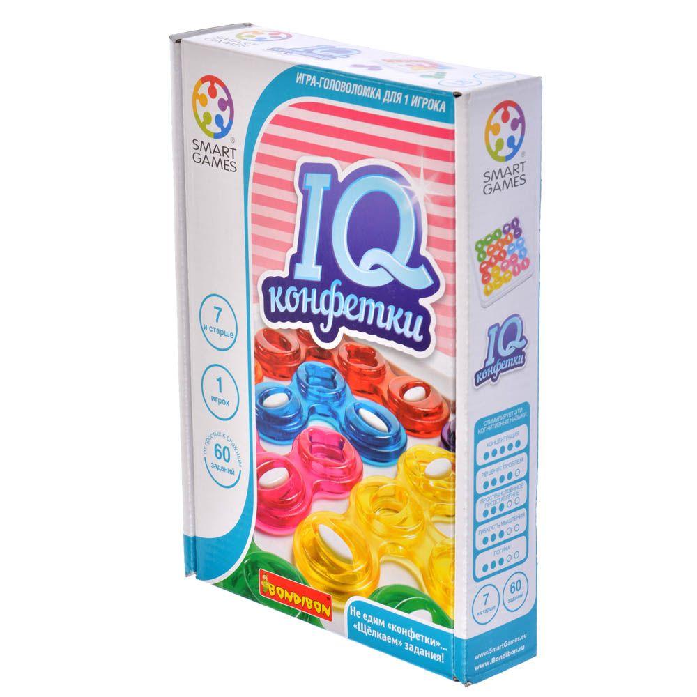 BONDIBON IQ-Конфетки головоломка bondibon smart games iq конфетки вв1353