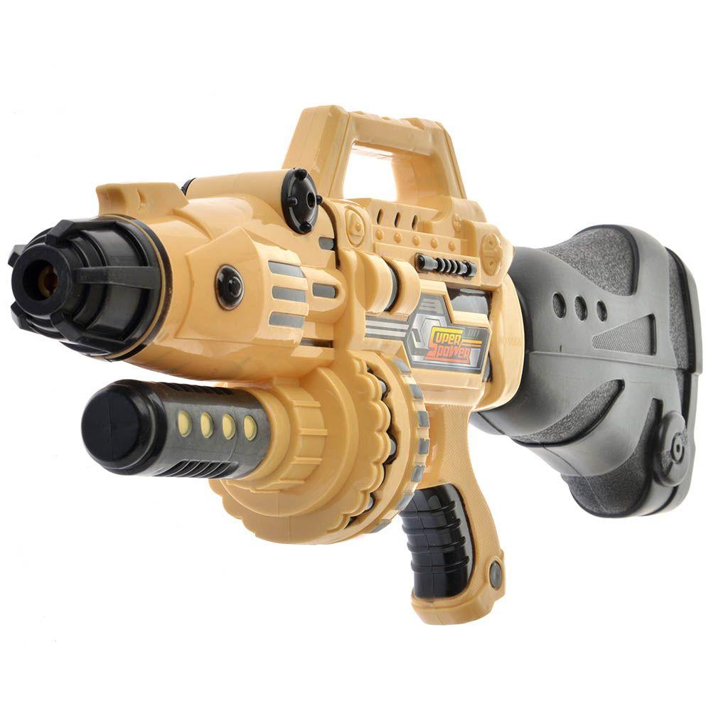 BONDIBON Водный пистолет с помпой Наше Лето (милитари-коричневый)