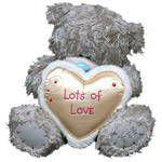 Мишка Тедди - С сердцем с опушкой (Lots of Love)