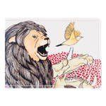 Обложка на студенческий Лев