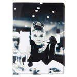 Обложка на паспорт Одри с сигаретой